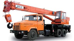 Автокран КРАЗ 250