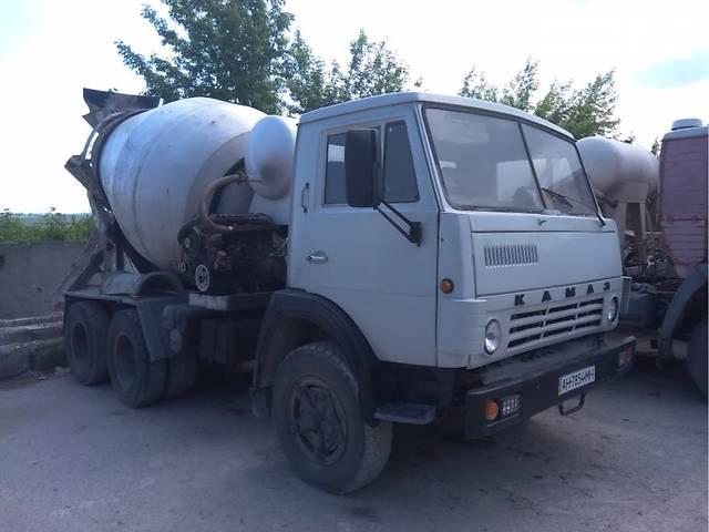 Міксер на базі Камаз 53212